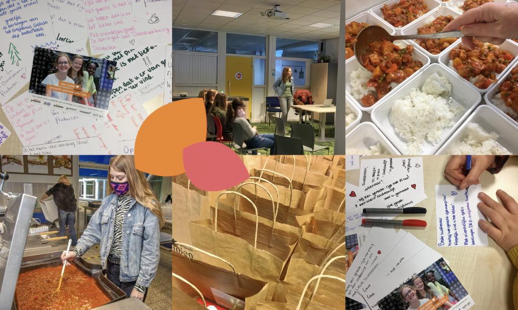 Leerlingen van Greijdanus verzorgen maaltijden voor eenzame en arme bewoners van Zwolle